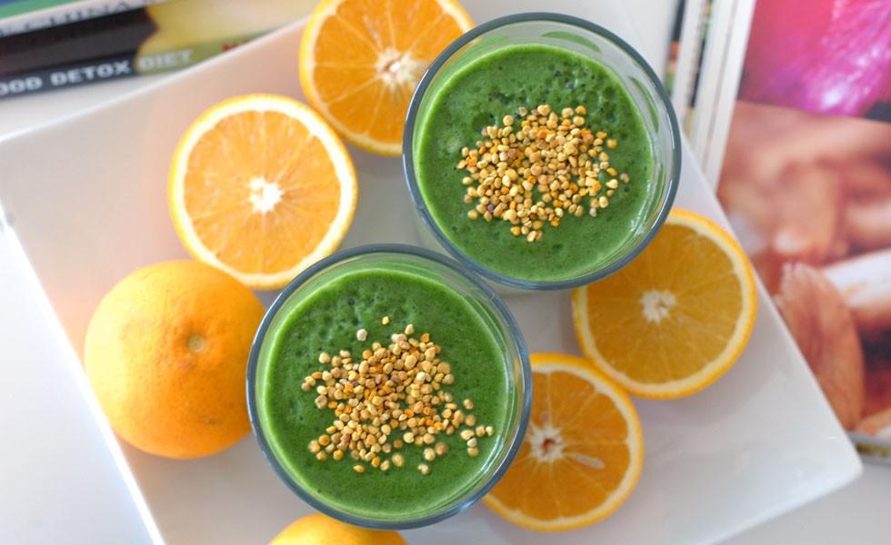 Green Smoothie: Vitamin B Monster