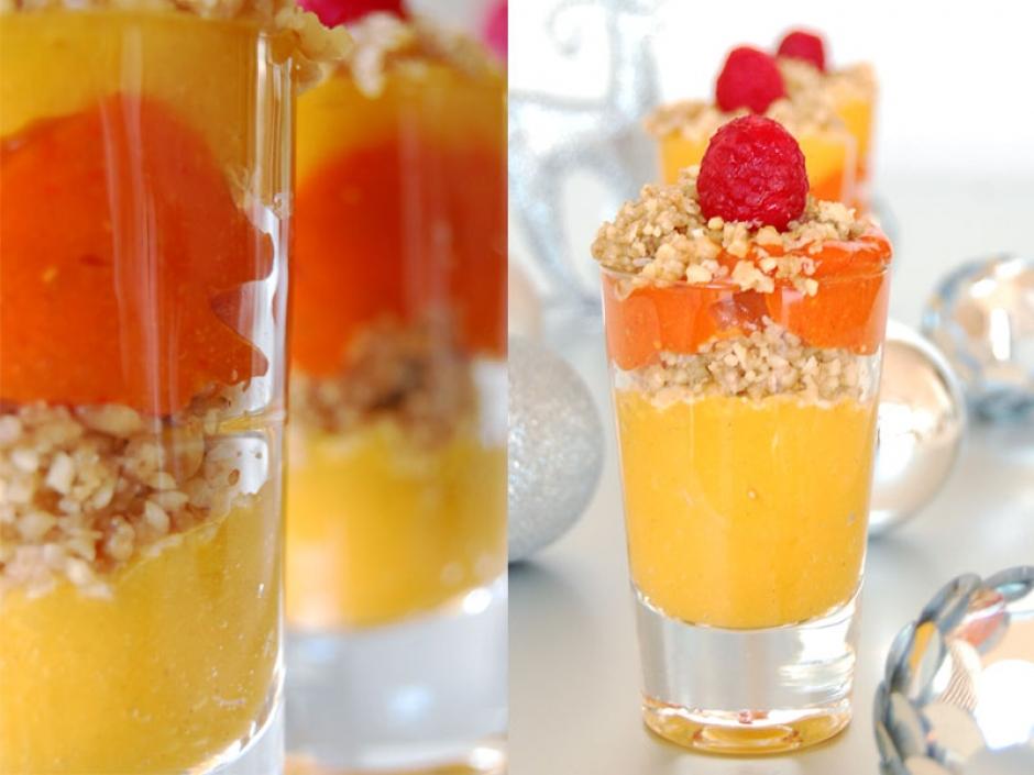 Mango & Raspberry Parfait   THE GLOBAL GIRL ®
