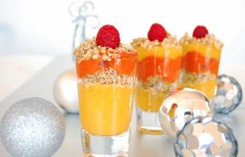 Mango & Raspberry Parfait