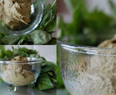 Hair-boosting & Flavor bursting: Raw Vegan Walnut & Basil Pesto