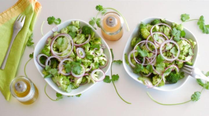 The Essentials: Raw Marinated Broccoli Salad