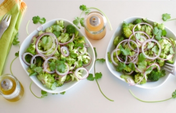 The Essentials: Raw Marinated Broccoli Salad
