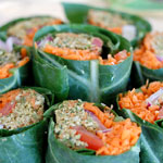 Raw Wrap w/ Pumpkin Seed Patty