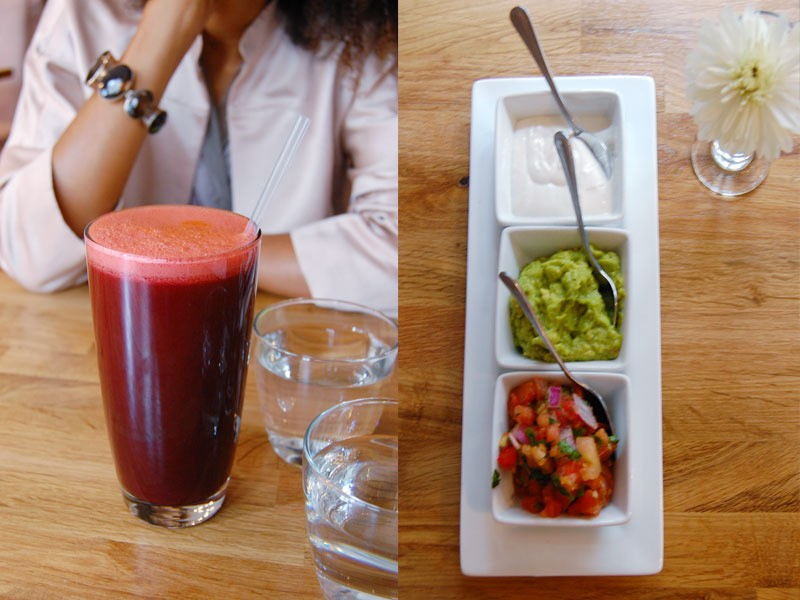 the-global-girl-theglobalgirl-raw-vegan-restaurant-rawlicious-beet-juice-nacho-guacamole-sour-cream-salsa-chips