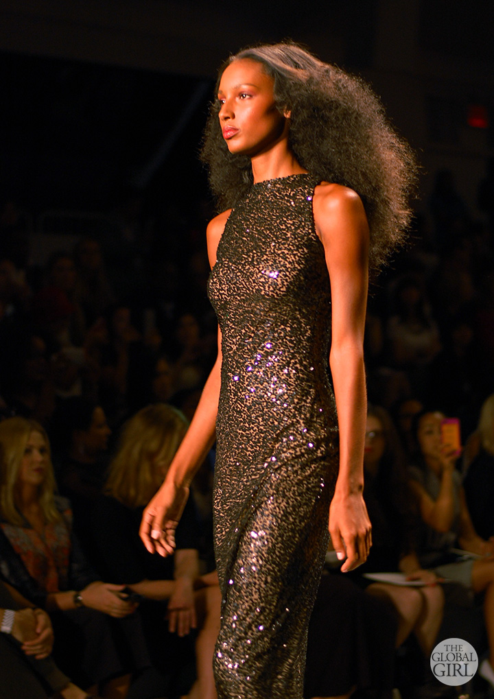 The Global Girl Runway Picks: Reem Acra Spring 2014 Collection - New York Fashion Week.