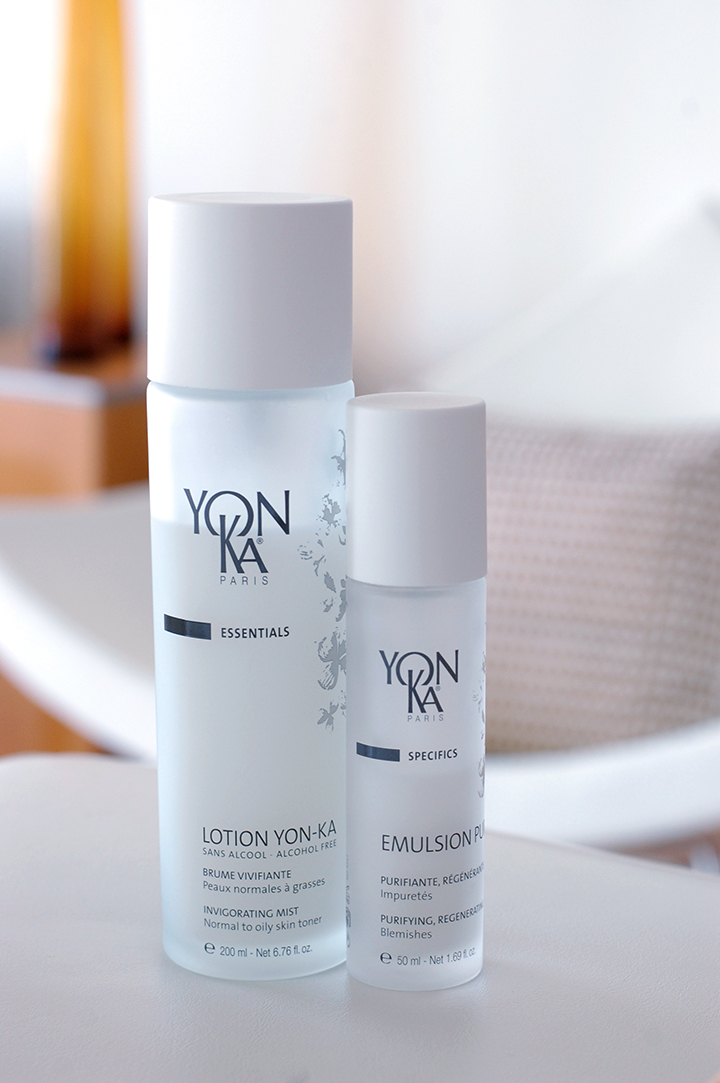 The Global Girl's Beauty: Ndoema's Top 5 Skin Detox Boosters - Yon-Ka essential oil based invigorating mist and purifying emulsion.