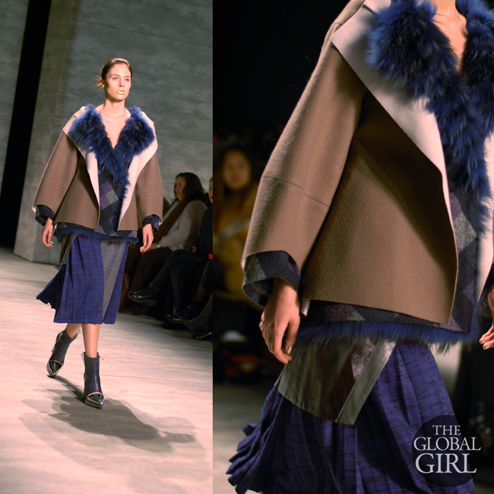 Front Row with The Global Girl at New York Fashion Week: Son Jung Wan Fall Winter 2014 Runway Collection