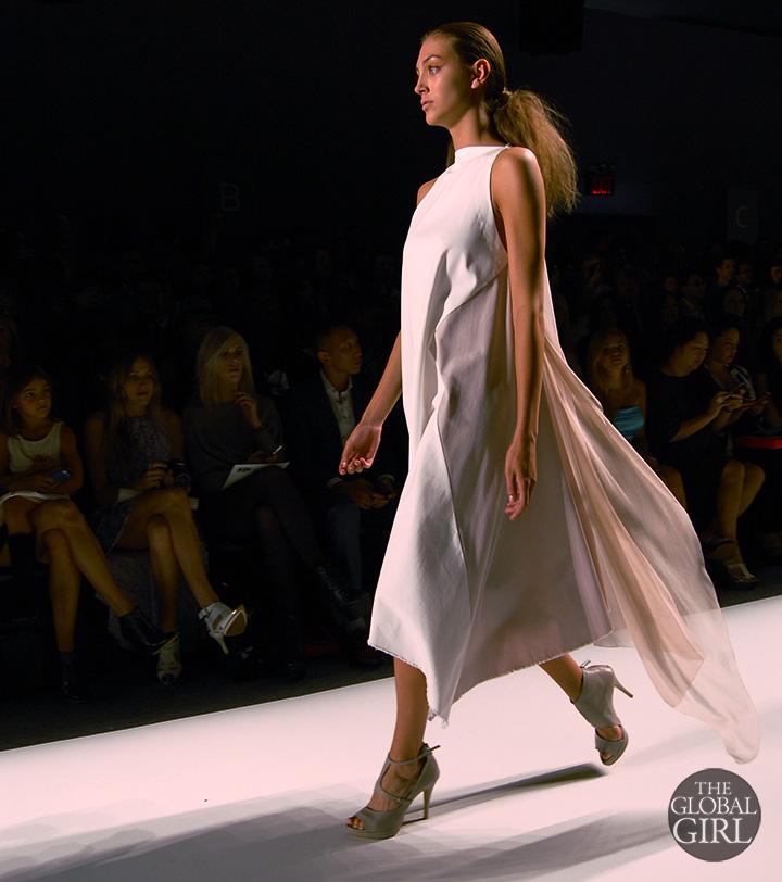 The Global Girl Runway Photos: Front Row at Son Jung Wang Spring 2014 Collection - New York Fashion Week