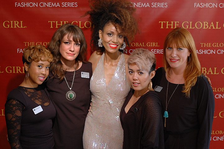 The Global Girl Fashion Cinema Series: Cast and crew at the red carpet premiere of Second Chance.