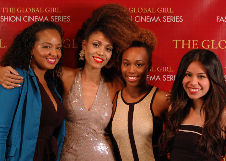 The Global Girl Fashion Cinema Series: Cast and crew at the red carpet premiere of Second Chance