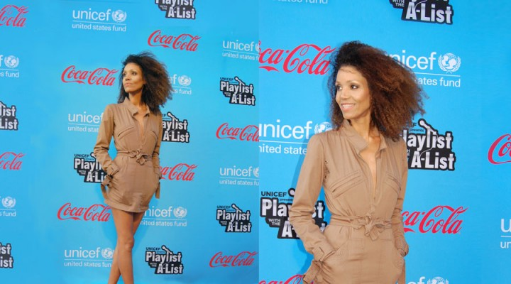 At UNICEF's Playlist with the A-List