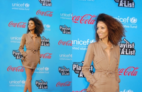 UNICEF evento: Playlist with the A-List